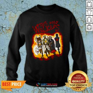 Official The Holy Walkers Sweatshirt - Design by Habittees.com