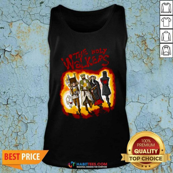 Official The Holy Walkers Tank Top - Design by Habittees.com