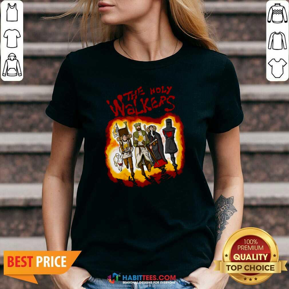Official The Holy Walkers V-neck - Design by Habittees.com