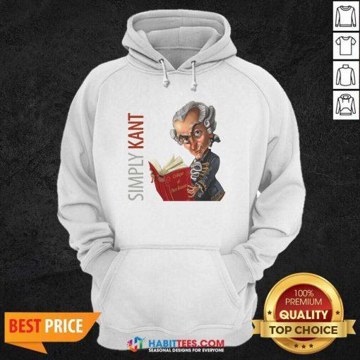 Original Simply Kant 2020 Hoodie - Design by Habittees.com