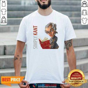 Original Simply Kant 2020 Shirt - Design by Habittees.com