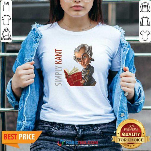 Original Simply Kant 2020 V-neck - Design by Habittees.com