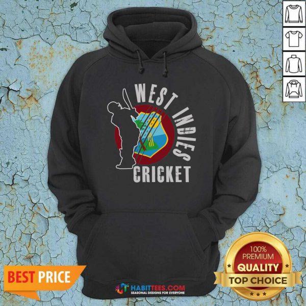 Original West Indies Cricket Hoodie - Design by Habittees.com