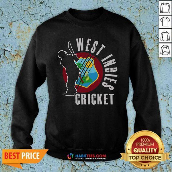 Original West Indies Cricket Sweatshirt - Design by Habittees.com