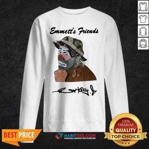 Awesome Emmett's Friends Signature Sweatshirt- Design by Habittees.com