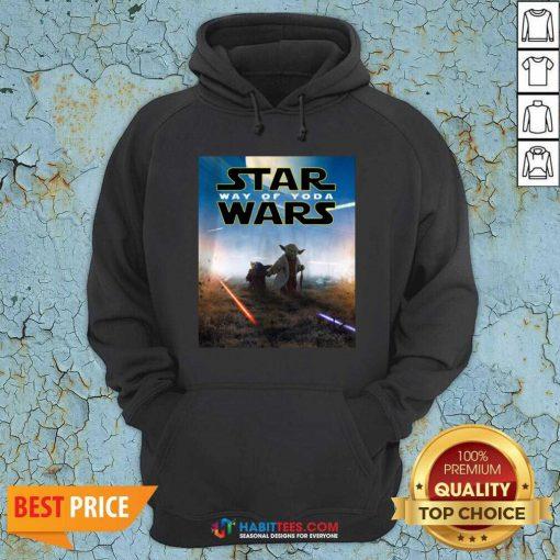Premium Star Wars Way Of Baby Yoda Poster Hoodie - Design by Habittees.com