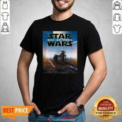 Premium Star Wars Way Of Baby Yoda Poster Shirt - Design by Habittees.com