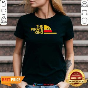 Premium The Pirate King V-neck - Design by Habittees.com