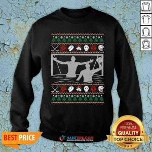 Premium Water Polo Ugly Christmas Sweatshirt - Design by Habittees.com