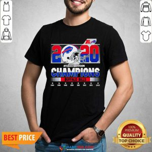 Top 2020 AFC East Division Champions Buffalo Bills 1980 2020 Shirt - Design by Habittees.com