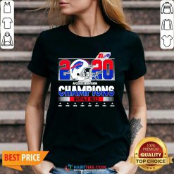 Top 2020 AFC East Division Champions Buffalo Bills 1980 2020 V-neck - Design by Habittees.com
