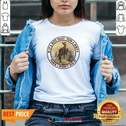 Top If It's Not Fast Fun And Dirty Then I Don't Do It V-neck - Design by Habittees.com