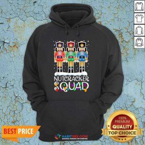 Top Nutcracker Squad Merry Christmas Hoodie - Design by Habittees.com
