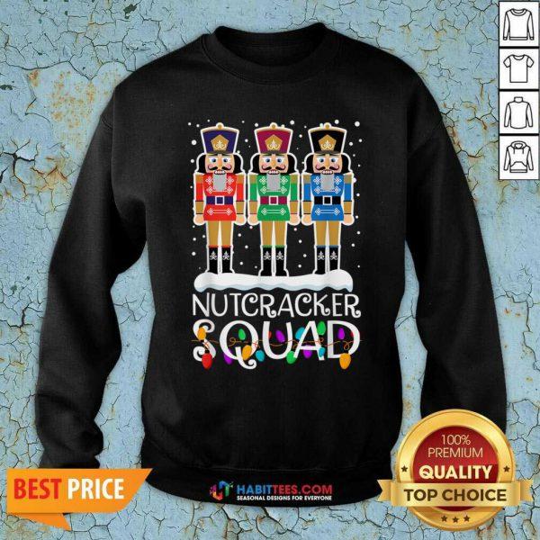 Top Nutcracker Squad Merry Christmas Sweatshirt - Design by Habittees.com
