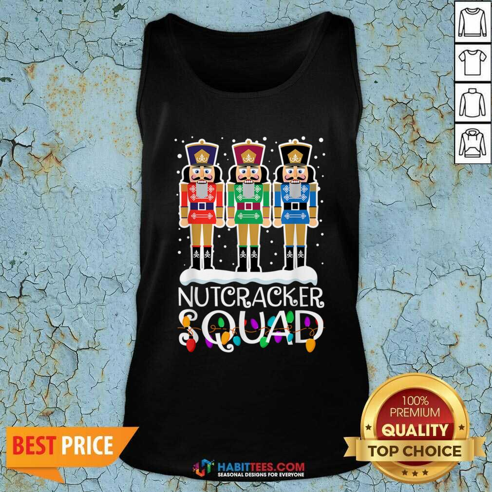 Top Nutcracker Squad Merry Christmas Tank Top - Design by Habittees.com