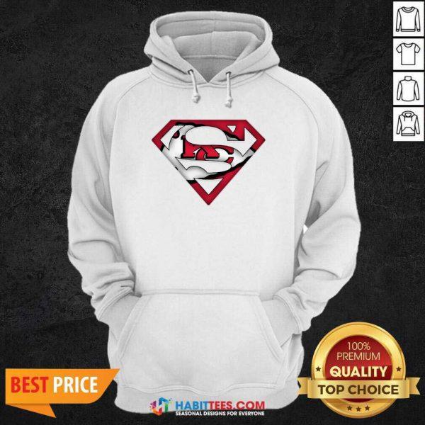 Top Superman Kansas City Chiefs Hoodie - Design by Habittees.com
