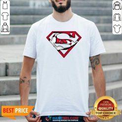 Top Superman Kansas City Chiefs Shirt - Design by Habittees.com