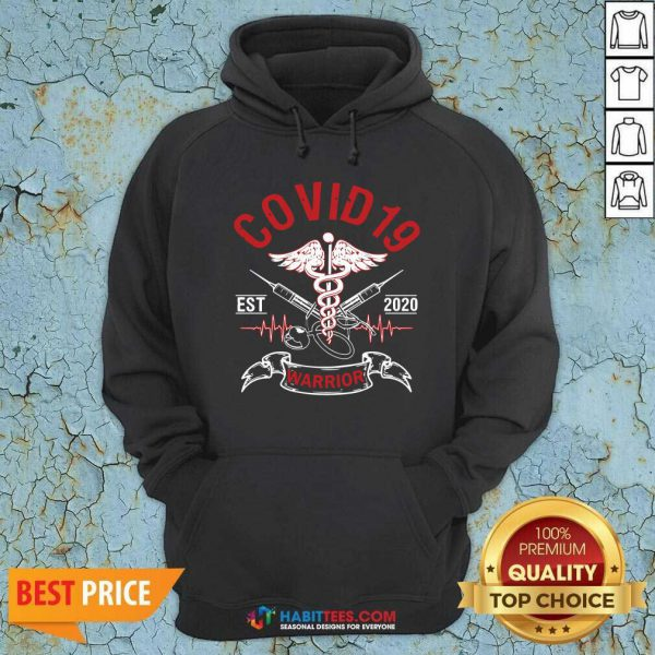 Awesome Covid 19 Esr 2020 Warrior Hoodie - Design by Habittees.com