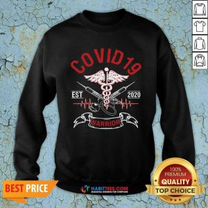 Awesome Covid 19 Esr 2020 Warrior Sweatshirt - Design by Habittees.com