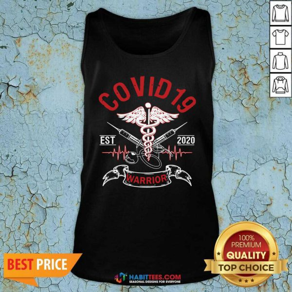 Awesome Covid 19 Esr 2020 Warrior Tank Top - Design by Habittees.com