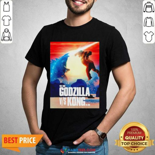 Awesome The God Godzilla vs Kong The King 2021 shirt