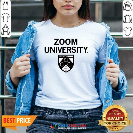 Awesome Zoom University 223 V-neck