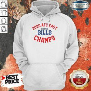 Funny 2020 AFC East Buffalo Bills Champions Hoodie