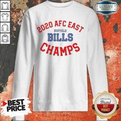 Funny 2020 AFC East Buffalo Bills Champions Sweatshirt