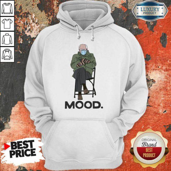 Funny Bernie Sanders Mittens Mood 022 Hoodie