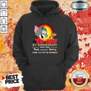 Funny Tom And Jerry 81st Anniversary Hoodie