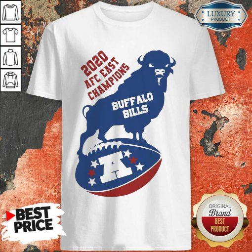 Good 2020 AFC East Champions Buffalo Bills Football Shirt