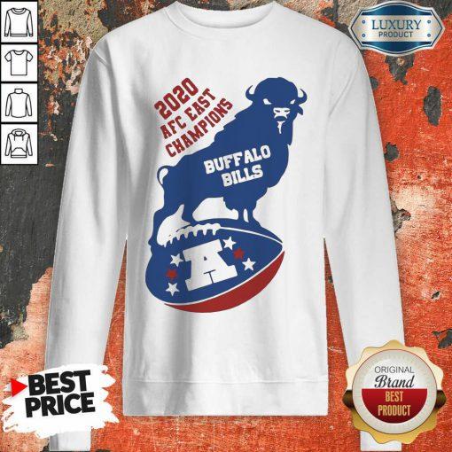 Good 2020 AFC East Champions Buffalo Bills Football Sweatshirt