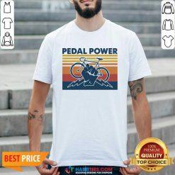 Bicycle Pedal Power Vintage Retro 1 Shirt - Desisn By Habittees.com