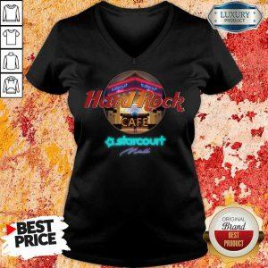 Good Hard Rock Cafe Starcourt Mall 022 V-neck