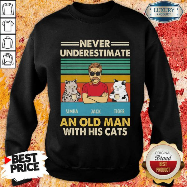 Good Simba And Jack And Tiger 1 Sweatshirt