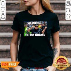 Good We Salute All Vietnam Veterans V-neck - Desisn By Habittees.com