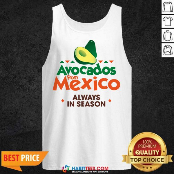 Hot Avocados From Mexico Great 21 Tank Top