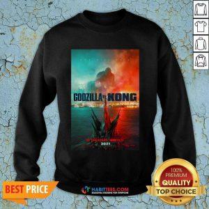 Hot Godzilla vs Kong Poster 1145 Sweatshirt