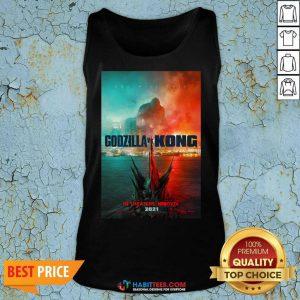 Hot Godzilla vs Kong Poster 1145 Tank Top
