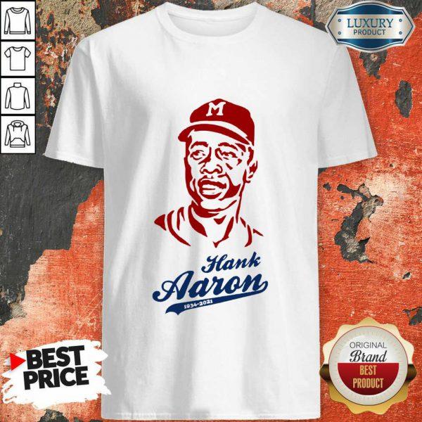 Hot Hammerin Hank Aaron Tribute Shirt
