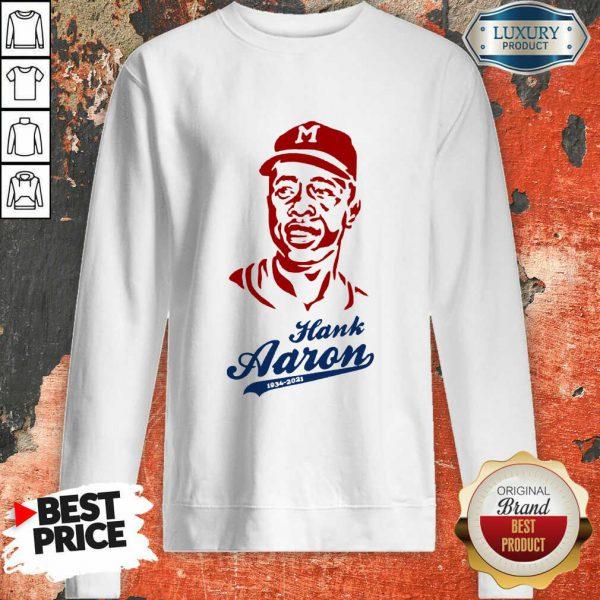 Hot Hammerin Hank Aaron Tribute Sweatshirt