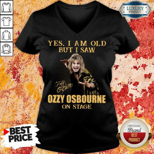 Hot Old But I Saw Ozzy Osbourne On Stage 2 V-neck