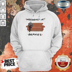 Hot Weekend At Bernies Wear Mask Covid 19 Hoodie