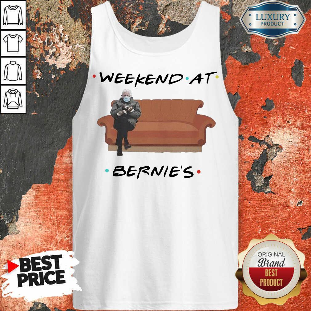 Hot Weekend At Bernies Wear Mask Covid 19 Tank Top