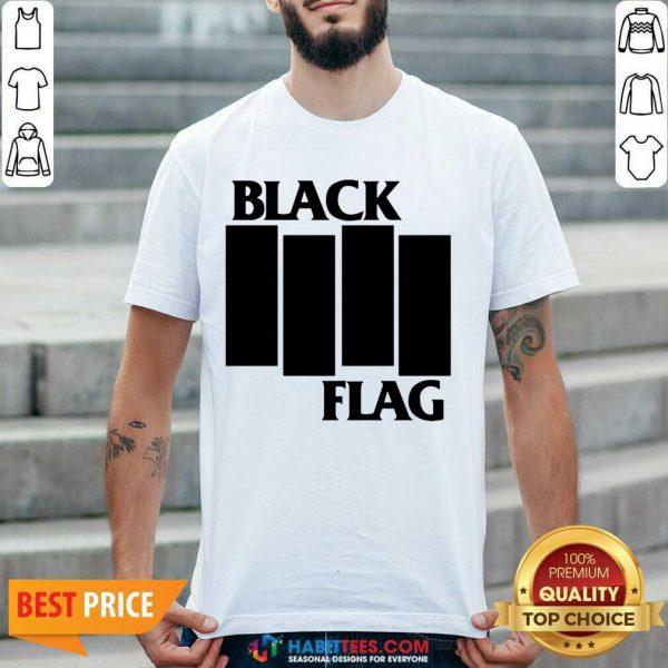 Nice Black Flag Black Flag Bars And Logos 112 Shirt