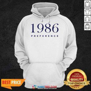Official 1986 Preference Wonderful Hoodie