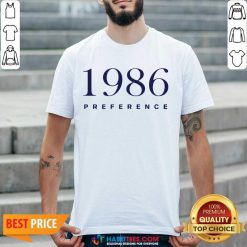 Official 1986 Preference Wonderful Shirt