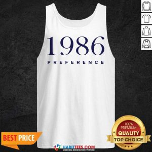 Official 1986 Preference Wonderful Tank Top