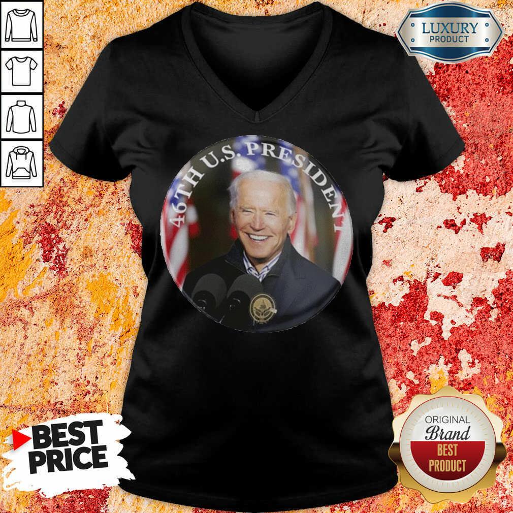 Official 46th Us President Joe Biden V-neck