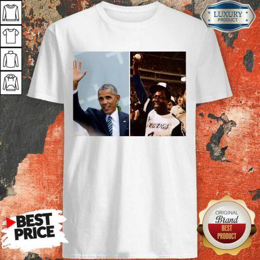 Official Barack Obama Lauded Hank Aaron Shirt